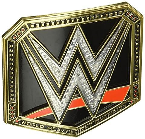 WWE Championship World Heavyweight Belt Buckle (John Cena Pants Belt)