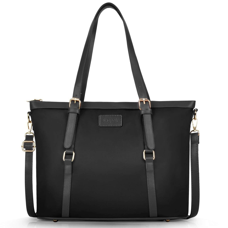 c5f6d43a801f Bageek tote bag for women nylon waterproof tote purses blue work tote  handbags blue large black