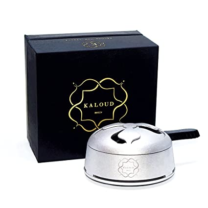 Kaloud Lotus I+ Hookah Heat Management System, Smoother, Tastier, Cleaner,  Longer Lasting Sessions Fits with Almost All Hookah Bowls