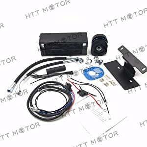 SMT-2.0 Reefer Oil Cooler Fan Cooling System Compatible With Harley Touring 2009-2016 [B07537886T]