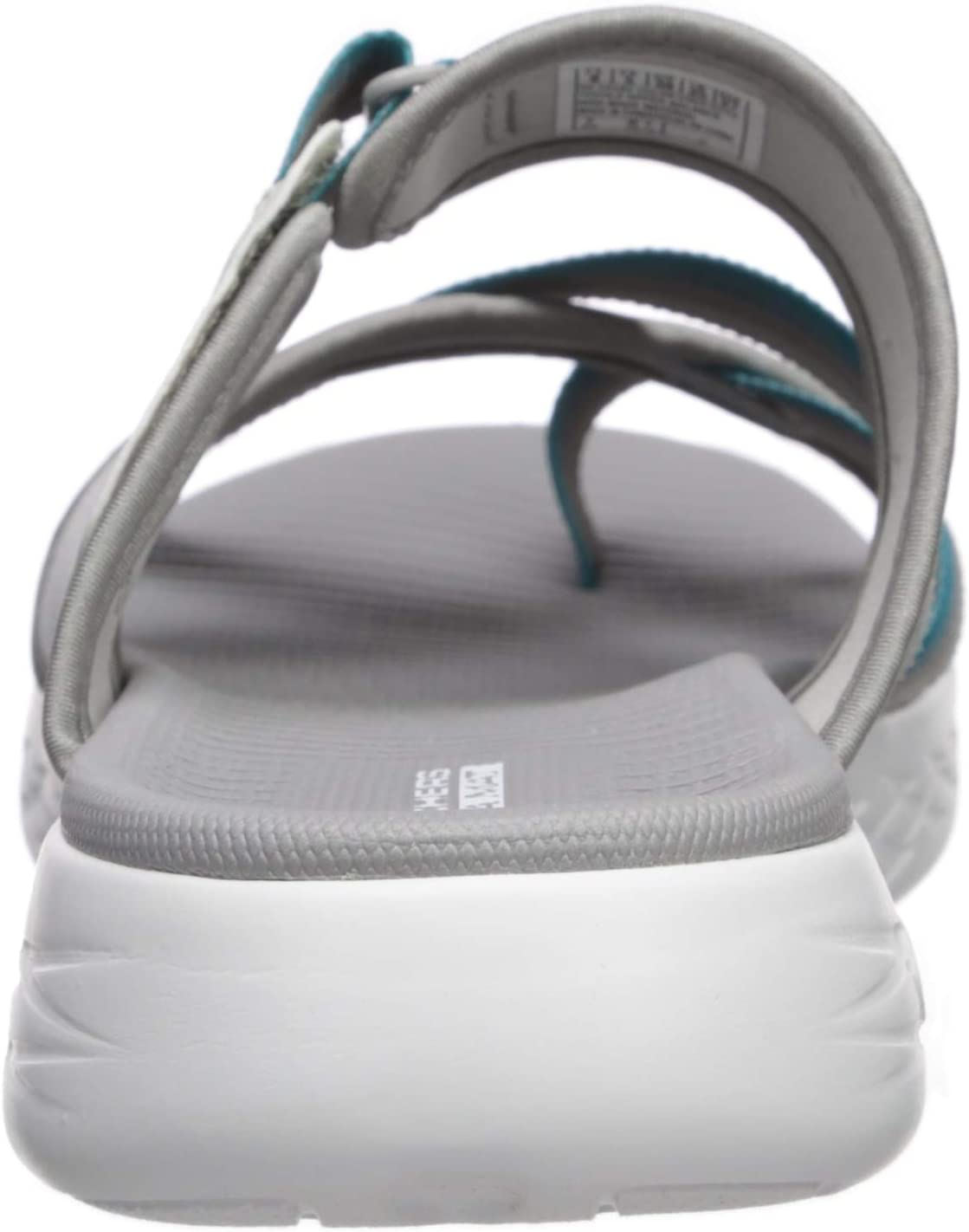 Skechers Womens 16161 On-The-go 600 - Summit Gray/Turquoise