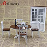 Dollhouse1/12 Scale Miniature Furniture Well Made Wooden Hand Carved Kitchen Kit