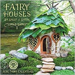 fairy houses 2020 mini wall calendar 7 x 7 7 x 14 open