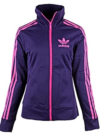 adidas jacke weiß lila pink