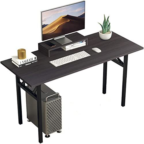 BOJOY Large Computer Office Desk PC Laptop Folding Table Home Workstation 47″x24″x30″