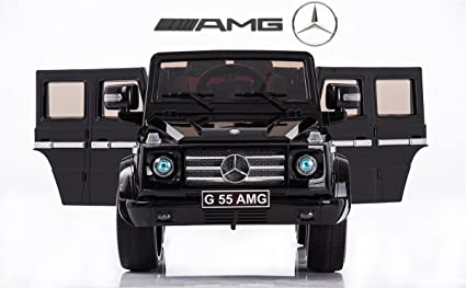 Mercedes Benz G55 Amg 12V Childrenu0027s Powered Ride On Car, Black