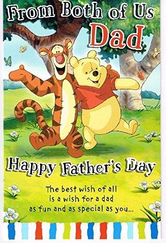 Amazon.com: Winnie the Pooh Tigger de ambos de nosotros Dad ...