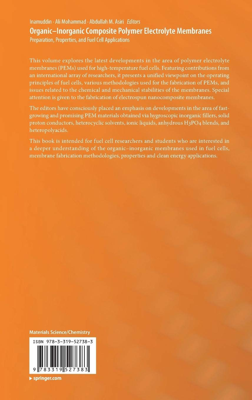 Buy Organic-Inorganic Composite Polymer Electrolyte