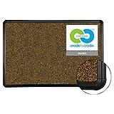 Best-Rite - Black Splash-Cork Board, 48 x 36, Natural Cork, Black Frame 300PC-T1 (DMi EA