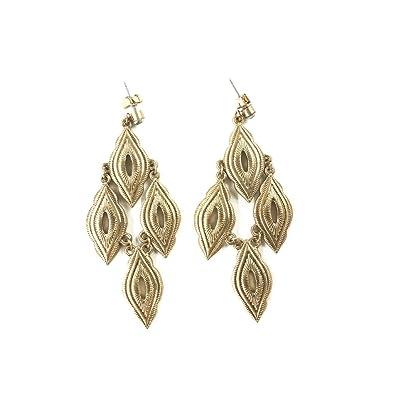 761f19fdb Amazon.com: Ettika Leave It To Me Gold Tone Drop Earrings: Jewelry