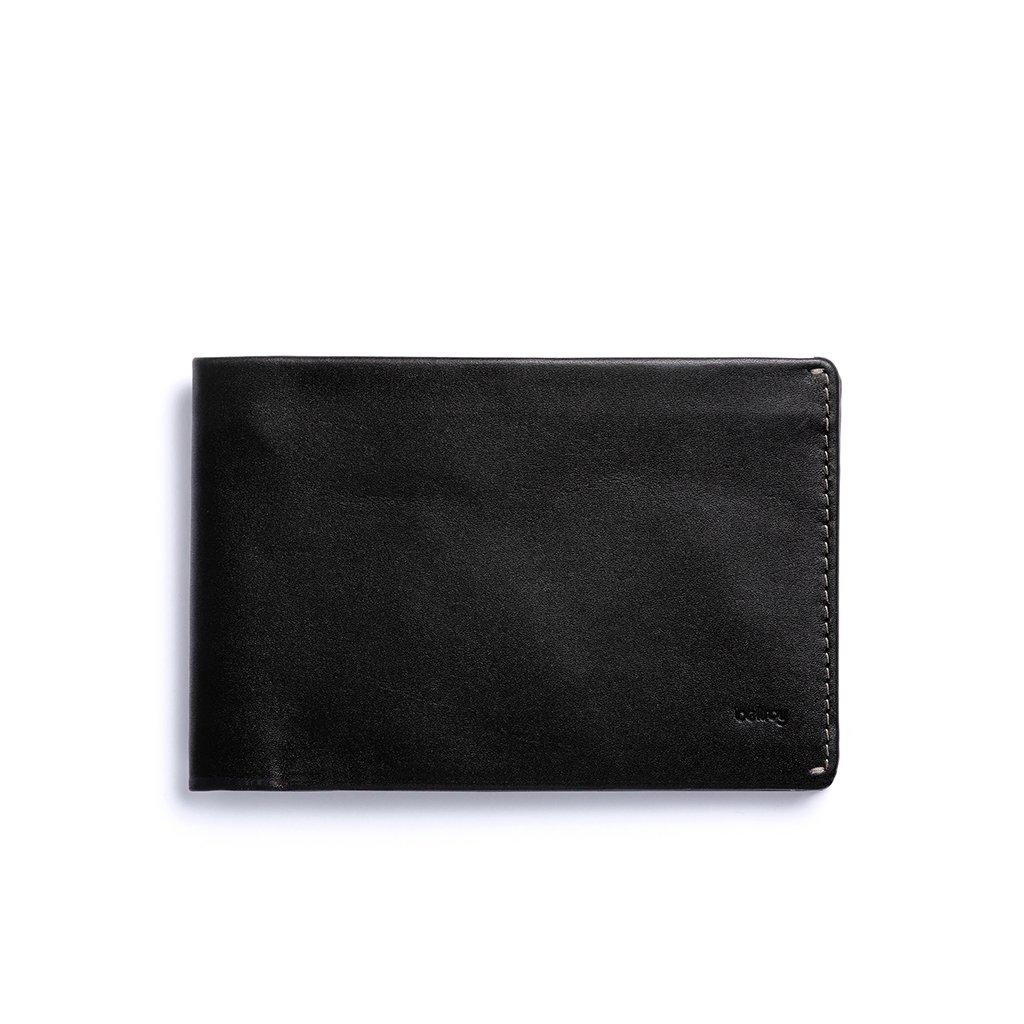RFID Bellroy Leather Travel Wallet Black