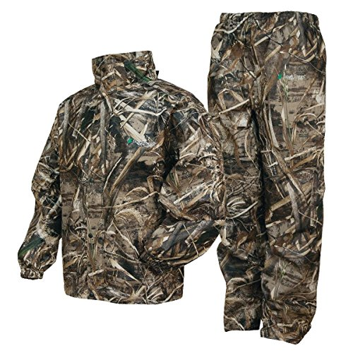 Frogg Toggs Frogg Toggs All Sport Rain Suit, Realtree Max-5, Size Large All Sport Rain Suit, Realtree Max-5, Large ()