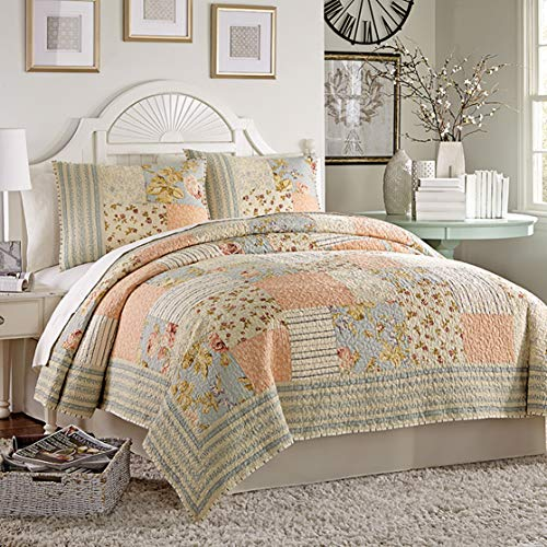 Mary Jane's Home Summer Fades to Fall Quilt, Full Queen, Multi (Mary Jane Bedding)