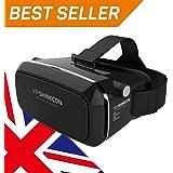 0e57e1741fa Tepoinn VR Headset HD 3D Virtual Reality Glasses Box Google ...