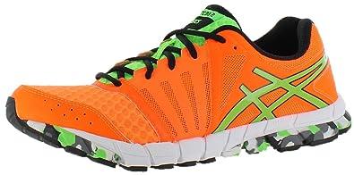 ASICS Mens GEL-Lyte33 2 Running Shoe Flash Orange Apple Black Size 14 05568511b