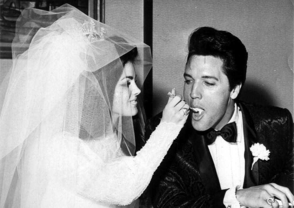priscilla presley and elvis wedding