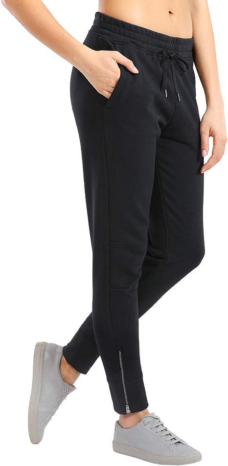 CRZ YOGA Pantalons de Sport Femme Jogging Pants D/écontract/é Pantalons avec Poches