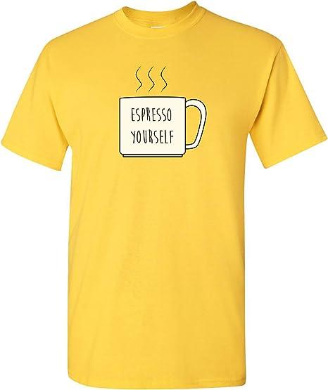 Espresso Yourself - Funny Coffee Mug Latte Caffeine T Shirt