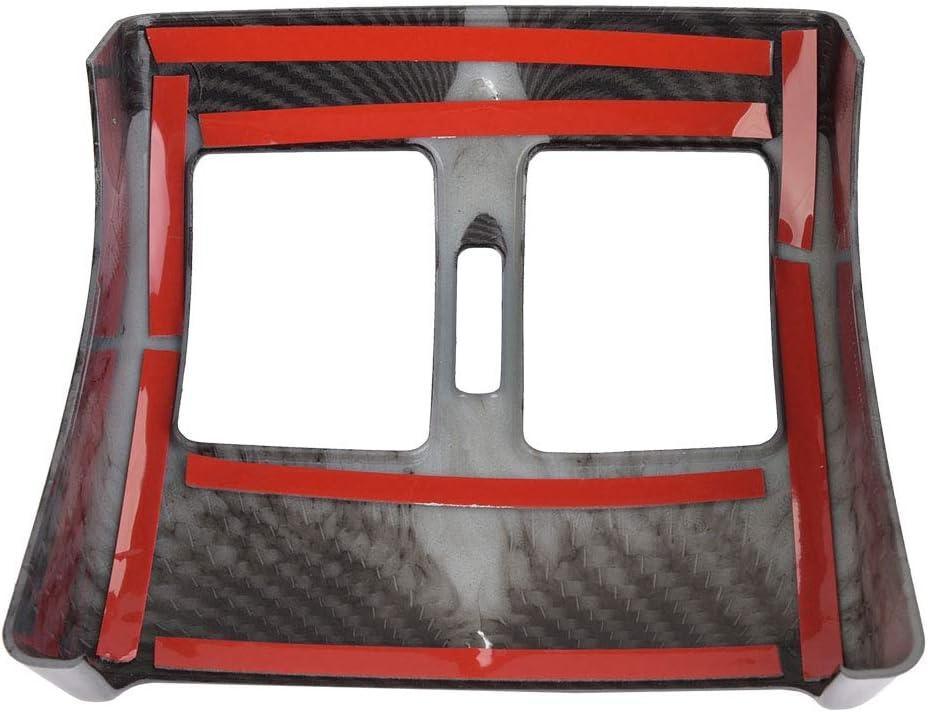 EBTOOLS Rahmen f/ür hinteren Luftauslass Rahmen f/ür hinteren Luftauslass im Kohlefaser-Stil f/ür C-Klasse W204 08-13