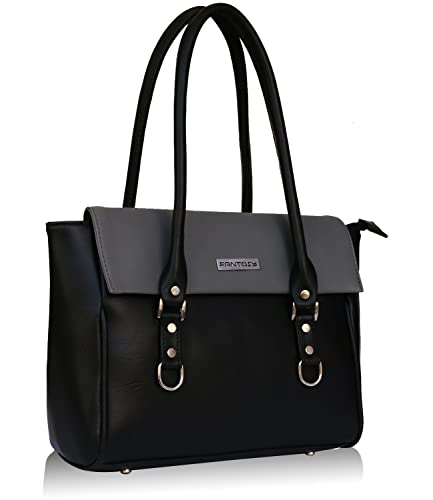 Fantosy Black and Grey women shoulder bag (FNB-728) (Black and Grey)   Amazon.in  Shoes   Handbags 47fcf08d72