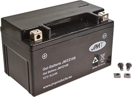 YTZ10S Gel Bater/ía para XP 500 Tmax A/ño 2008-2011 de JMT