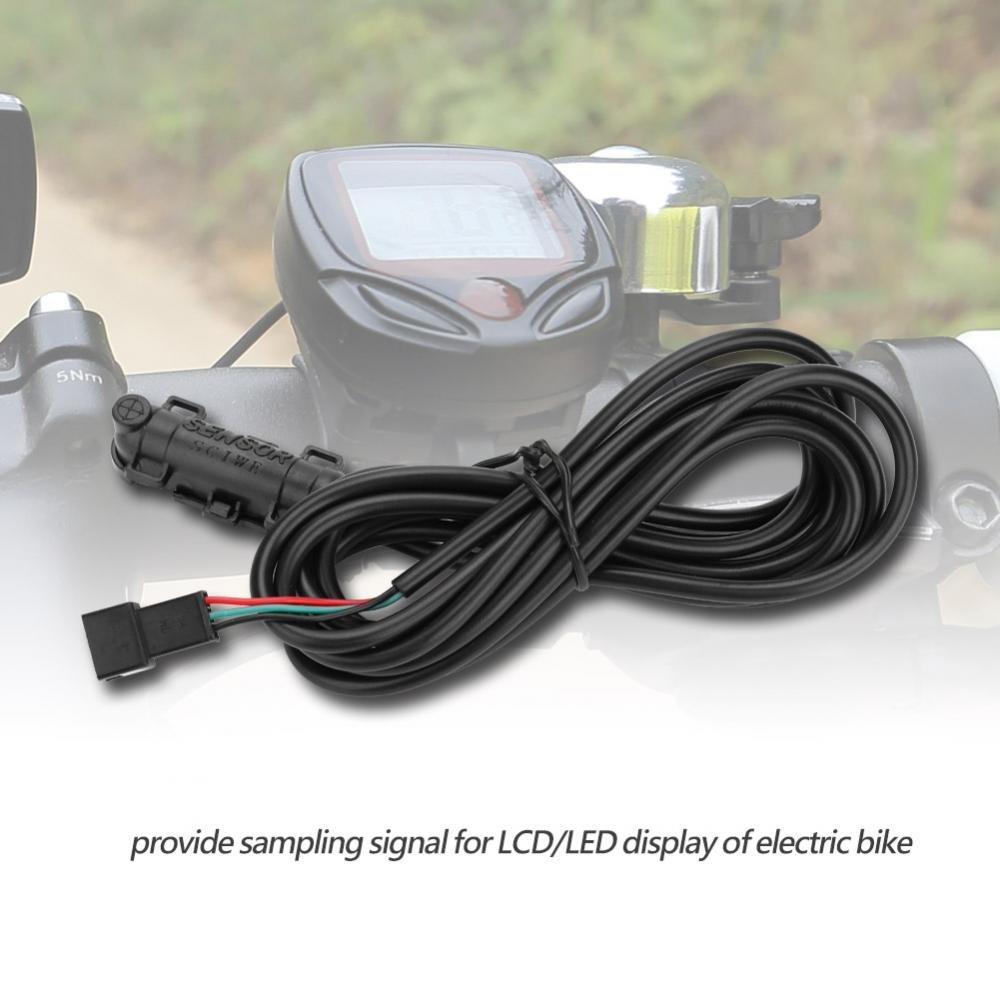 External Magnetic Speed Sensor Mechanical LCD//LED Display Sensor for Electronic Bikes Mountain Bike