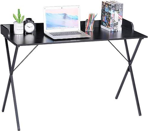 Computer Desk Black 47'' Writing Desk