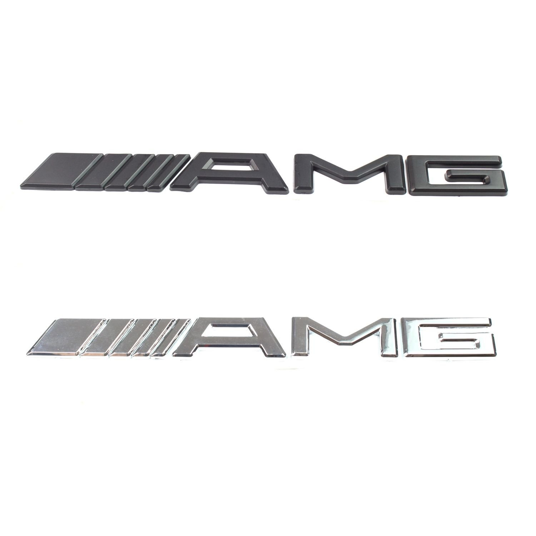 Mercedes Benz AMG Abzeichen Rear-Boot-Auto Chrom