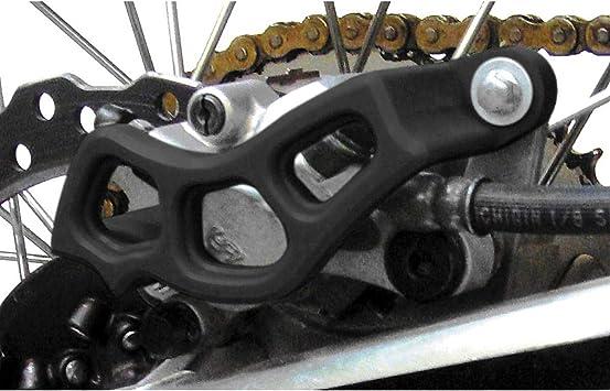 BLACK TM Designworks Brake Caliper Guard 04-18 KAWASAKI KX250F