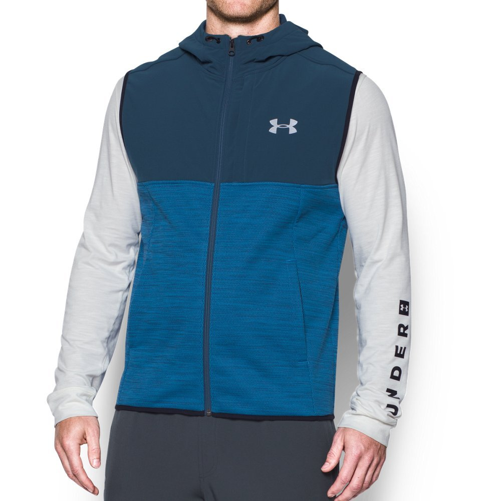 Under Armour Men's Storm Swacket Vest,Cruise Blue (899)/Reflective, Large Tall