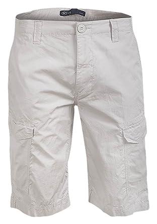 "031db3ca14 Hering Mens Stylish Tailored Cotton Cargo Shorts (32"" Waist, ..."
