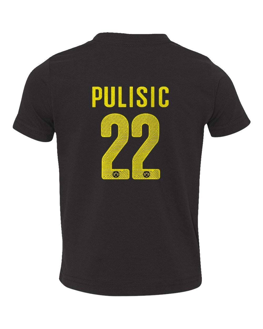 71284ce88a7 Amazon.com  Spark Apparel Soccer Jersey Style Shirt  22 Pulisic Little Kids  Girls Boys Toddler T-Shirt  Sports   Outdoors