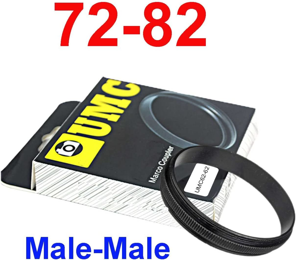 Male 72mm-82mm 72-82 mm Macro Reverse Ring reversing