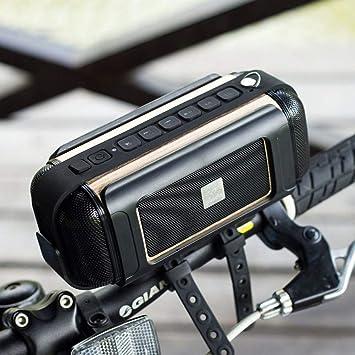 Yehyep Bicicleta Altavoz Bluetooth, Altavoz Bluetooth portátil 16W ...