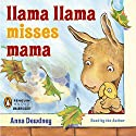 Llama Llama Misses Mama Audiobook by Anna Dewdney Narrated by Anna Dewdney