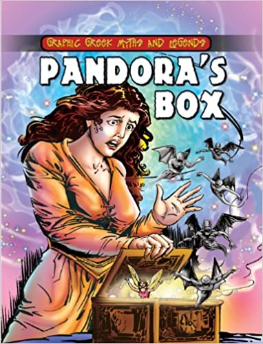 Pandora's Box (Graphic Greek Myths and Legends): Gilly Cameron ...