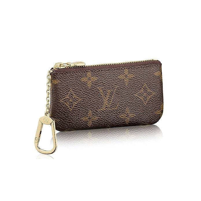 Amazon.com: Louis VUITTON Monogram lona Key Pouch m62650: Shoes