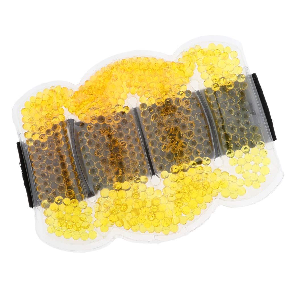 50 cm Schwarz P Prettyia Wiederverwendbar Kalt-Warm Kompressen Mehrfachkompresse mit Gel Perlen f/ür R/ücken//Knie-Schulter-Kn/öchelverletzungen