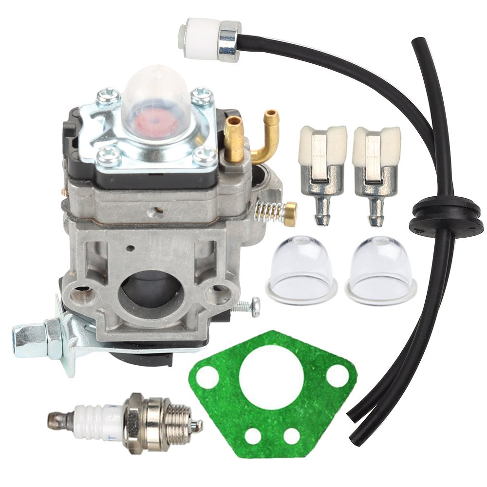 Amazon.com: HIPA Carburetor + Primer Bulb Fuel Line Filter for RedMax Red  Max EB4300 EB4400 EB4401 EB431 EB7000 EB7001 Backpack Leaf Blower: Garden &  ...