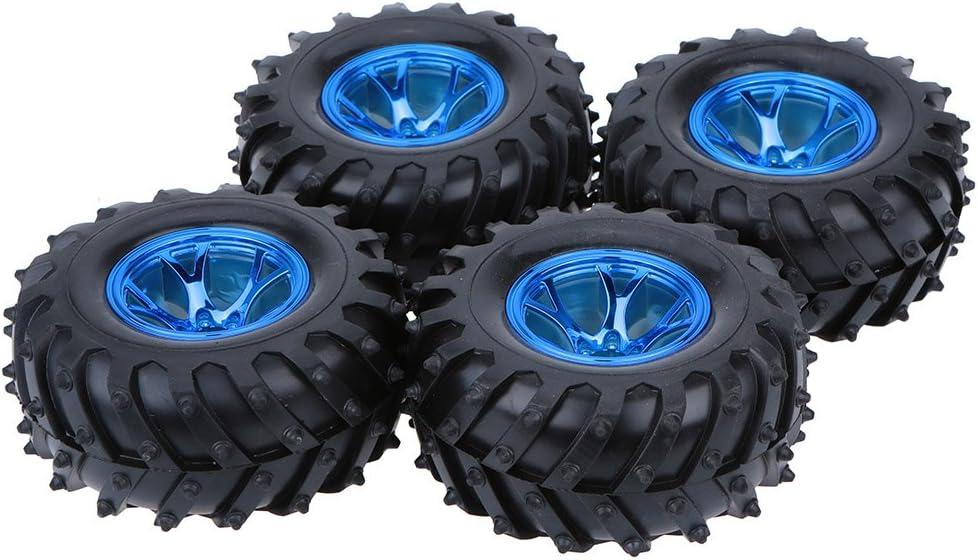 Goolsky 4pcs/Set 1/10 Monster Truck neumáticos neumáticos para HSP Traxxas Tamiya HPI Kyosho RC Modelos Coches
