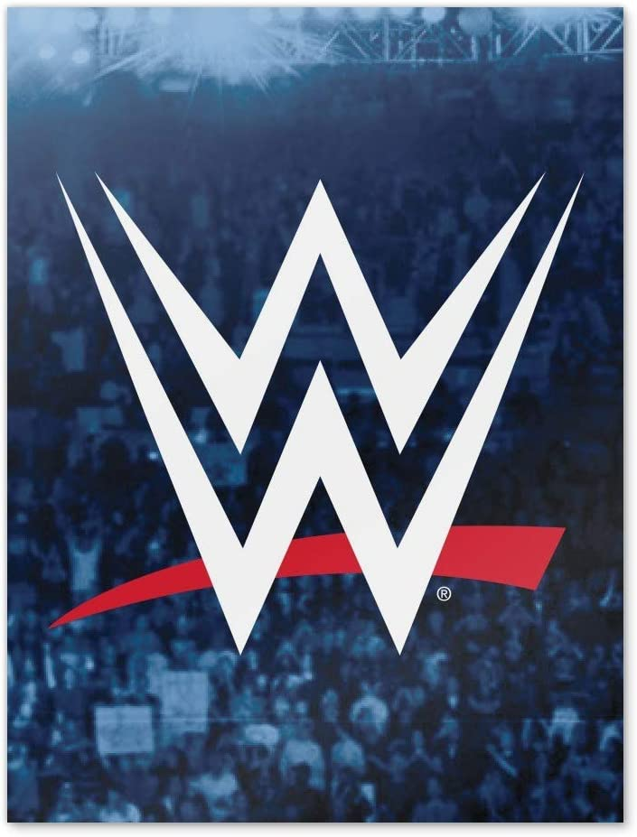 GRAPHICS & MORE WWE Crowd Logo Home Business Office Sign