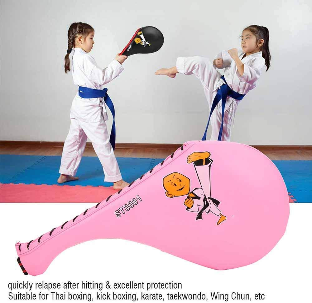 Children Kick Target Punch Pads Karate Practice Paddle for Boxing Taekwondo Sparring Kickboxing MMA Muay Thai Martial Arts VGEBY1 Target Pad