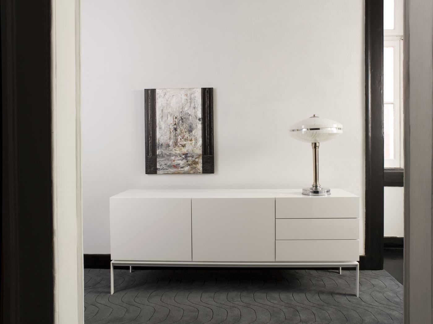 Entzückend Sideboard Mit Füßen Sammlung Von Temahome Glare 2 Türen Und 3 Schubkästen