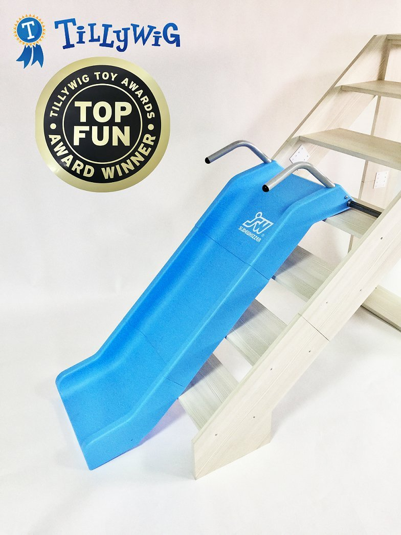 Indoor Stair Slide Toy playset Toys – Kids/Toddler/Boys/Girls Safe Playground Children on Stairs – Parents/Grandparents Gifts to Your Precious Ones by SLIDEWHIZZER (Image #8)