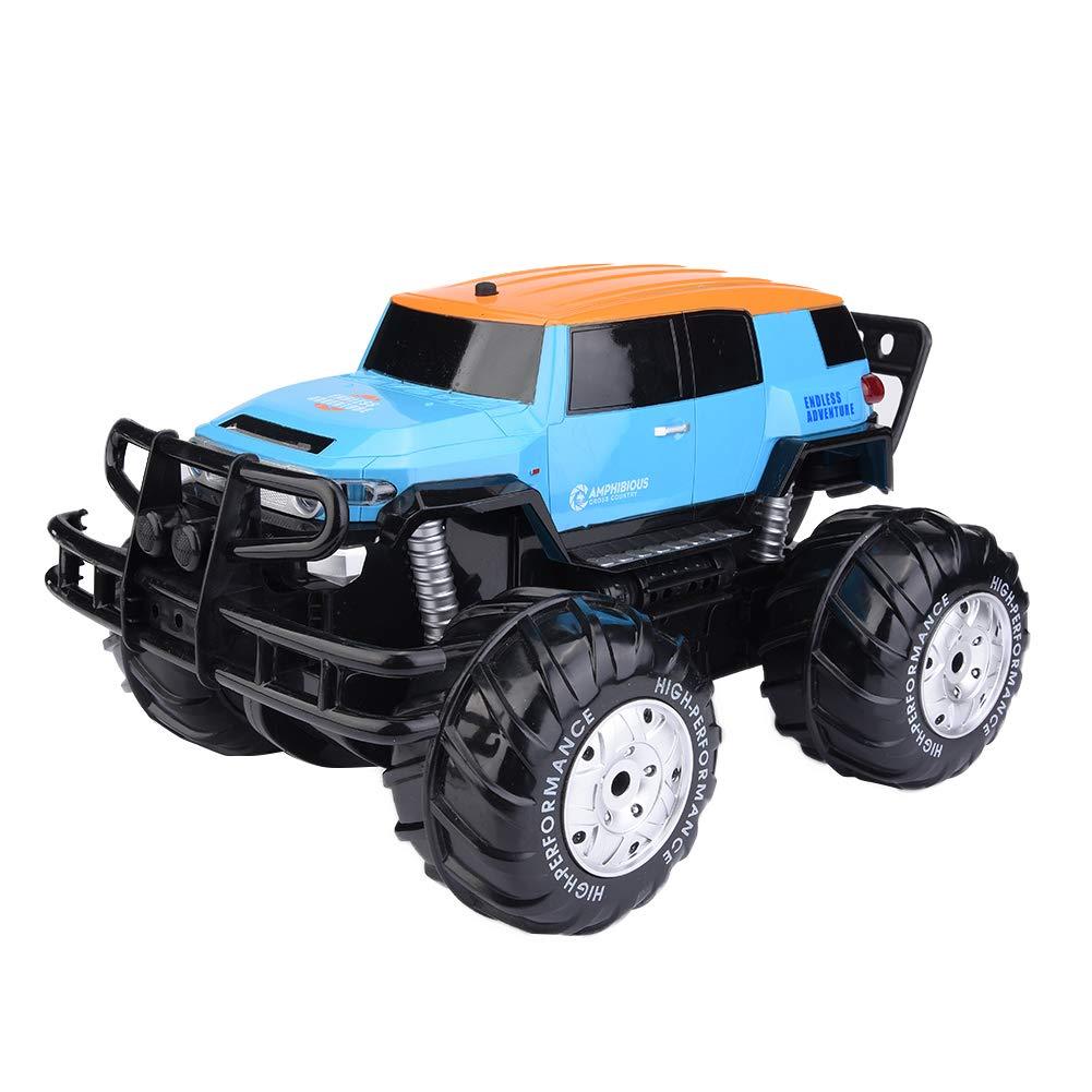 Dilwe Wiederaufladbare RC Auto Geschenk für Kinder, Wiederaufladbare Dilwe Allrad-Fernbedienung Auto Spielzeug Amphibien Geländewagen 266bb0