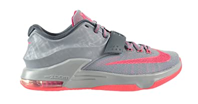 watch 7c29a e9eb8 Nike KD VII Calm Before The Storm Men s Shoes Magnetic Grey Hyper Punch- Light