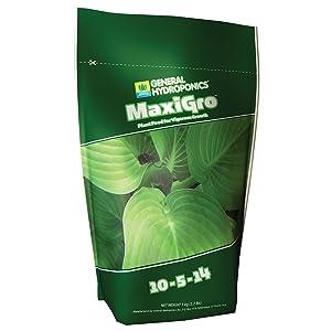 General Hydroponics MaxiGro for Gardening, 2.2-Pound