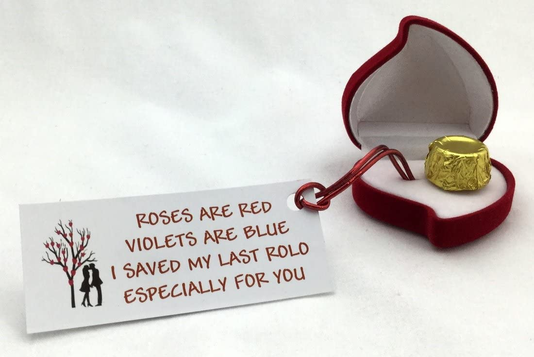 My Last Rolo Romantic Christmas Valentines Birthday Special Novelty Gift Present by Clever Little Gifts perfect for the love in your life Boyfriend Girlfriend Wife Husband Fiance Fiancee Partner