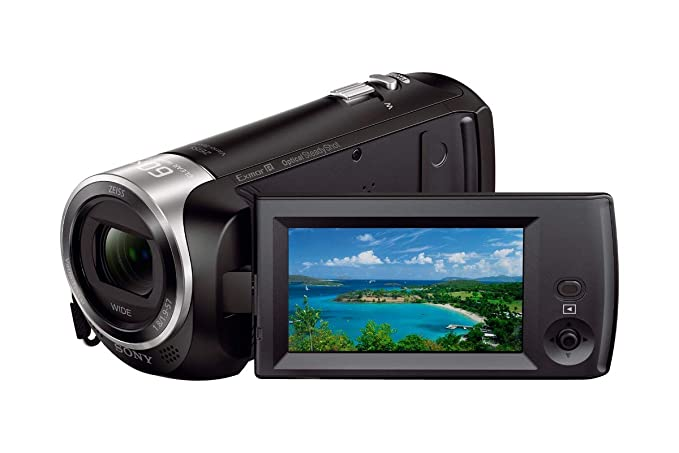 Sony HDRCX405 9.2MP HD Handycam Camcorder with Free Carrying Case  Black  Video Cameras