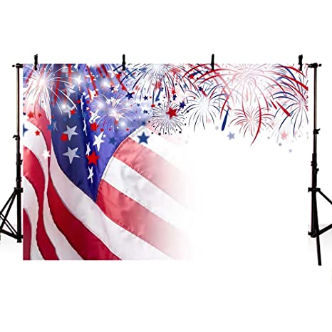 amazon com comophoto american flag independence day backdrop 7x5ft